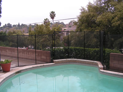 Installing a pool fence